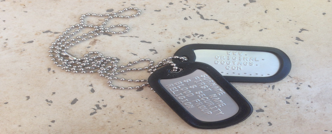 Dull dog tags